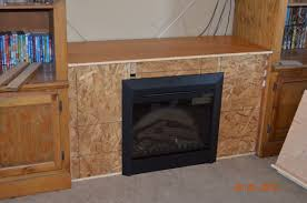 ana white entertainment center fireplace diy projects