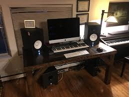 Music Studio Desk Plans by Diy Desk Dave Eddy