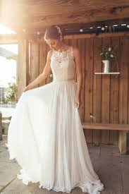 simple lace wedding dress wedding corners