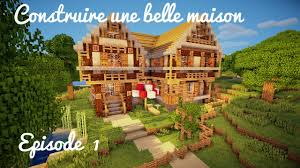 Plan Minecraft Maison by Construction D U0027une Belle Maison Ep 01 La Base Et Les Murs Youtube