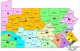 Bucks County Tax Map Wolf U0027s Congressional Redistricting Map Divides Beaver County