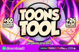 videohive toonstool fx kit free download free after effects