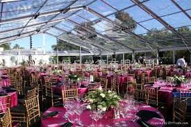 clear wedding tent merry brides how to choose an outdoor wedding tent size size