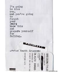 Common The Light Lyrics Typewriter Series 1601 By Tyler Knott Gregson Chasers Of