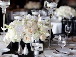 Tall Glass Vase Centerpiece Ideas Stunning Image Of Wedding Table Decoration With White And Gold