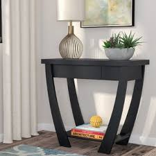 Modern Sofa Tables Black Modern Contemporary Console Sofa Tables You Ll