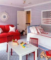 American Flag Living Room by American Flag Decor Boy U0027s Room The Well Appointed House Blog