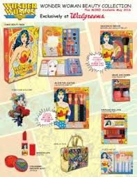 Wonder Woman Accessories Wonder Woman Beauty Collection Soars Into Walgreens