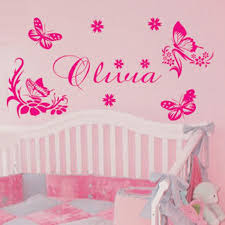 Girls Bedroom Wall Quotes Wall Decal For Baby Color The Walls Of Your House