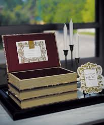 wedding wishes card box stacked antique book box wedding wishing well http www