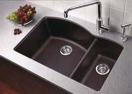 Blanco  Anthracite Diamond  Double Basin Undermount - Blanco silgranit kitchen sink