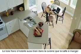 plancher cuisine bois plancher de bois franc massif ou ingénierie guide perrier