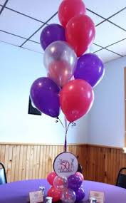 50th birthday flowers and balloons our gallery balloon artistry