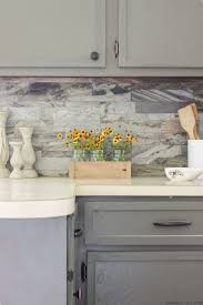 diy backsplash how to install peel and stick backsplash doors