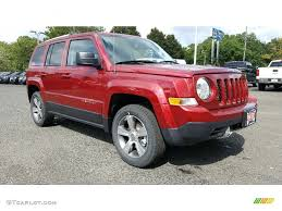 red jeep patriot 2017 deep cherry red crystal pearl jeep patriot high altitude 4x4