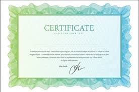 10 blank certificate template psd word eps and indesign format