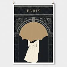 paris decor u201carc minimalist modern art print art deco poster