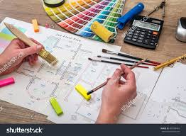 mens hand drawing home color sample stock photo 407598433