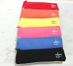 pencil bag new triangle shape key bags make up bag pen pencil fabric