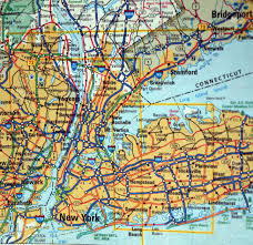 Map New York State New York City Road Map New York Map