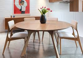 6 8 seater round dining table lyssna round dining table yo dining chair and tierra sideboard