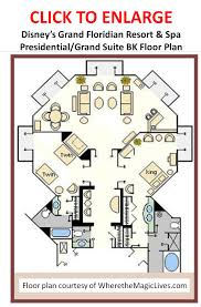 grand floor plans review disney u0027s grand floridian resort u0026 spa continued