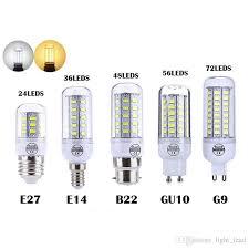 heat generating light bulbs led corn bulb 7w 12w 15w 20w 25w smd 5730 ls 110v 220v chandelier