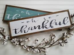 wooden signs decor thankful wood sign thankful wooden sign thankful sign