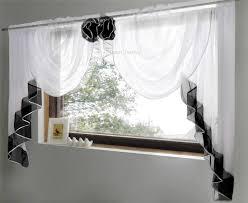 voile kitchen curtains brown u2014 railing stairs and kitchen design
