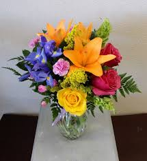 flowers las vegas splash of orange in las vegas nv signature flowers