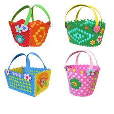 1piece new diy crafts children handmade flower baskets eva foam