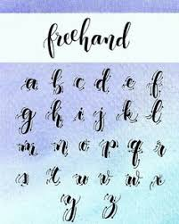 faux calligraphy tutorial step by step calligraphy tutorial