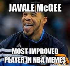 Player Memes - mcgee most improved player in nba memes