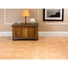Laminate Flooring Tile Look Nexus Classic Parquet Oak 12x12 Self Adhesive Vinyl Floor Tile