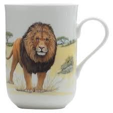 Animal Mug Maxwell U0026 Williams Cashmere Animals Of The World 300ml Lion Mug