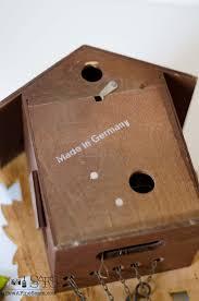 Antique Cuckoo Clock Cuckoo Clock Makeover Sew A Fine Seam
