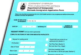Sle Letter Of Certification For Visa Application Bermuda Employment Conditions For Newcomers