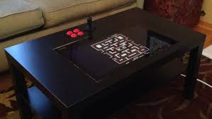 sit down arcade cabinet hack a 30 coffee table into a sit down arcade cabinet lifehacker