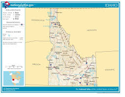 idaho zone map zone map idaho map