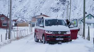 volkswagen california interior vw california 2017 review camping at the arctic circle by car