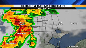 Rainfall Totals Map Metro Detroit Weather Forecast Honing In On Tonight U0027s Severe