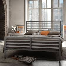bedroom design metal bed frame headboard elegant metal bed frame