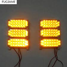 led strobe light kit fugsame 6x22led red blue white amber yellow strobe light led flash