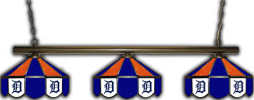 detroit tigers pool table cover detroit tigers 3 shade pool table light ozone billiards