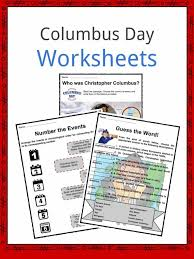 columbus day facts worksheets u0026 historical significance for kids