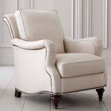 comfortable chair with ottoman furniture oversized white armchair chair home interior design ideas