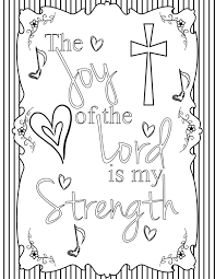 joy of the lord coloring page by fidbycourtney on etsy