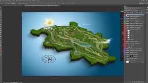 World Map Generator by 3d Map Generator Geo Photoshop Plugin Youtube