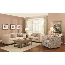 Patterned Accent Chair Siana Beige Fabric Accent Chair Steal A Sofa Furniture Outlet