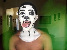 Puppy Halloween Makeup by 101 Dalmatian Dog Face Paint Tutorial Youtube